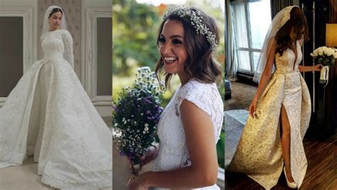 The Top 11 Egyptian Wedding Dress Designers Brides Need to