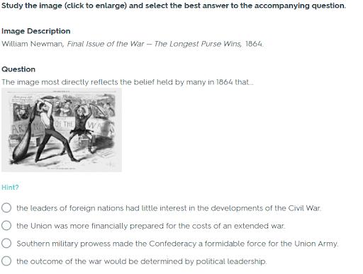 Civil War Test Study Guide Answer Key