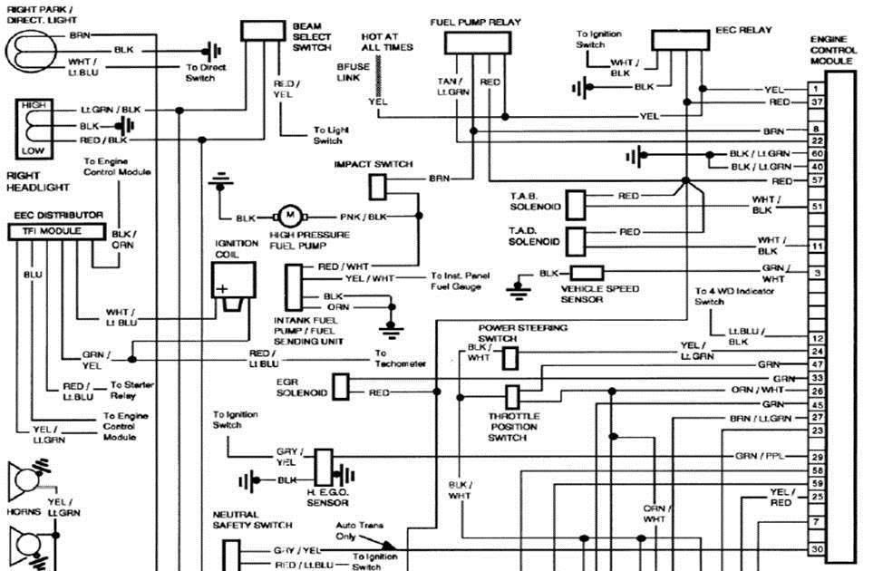 1986 Ford F 150 Engine Diagram