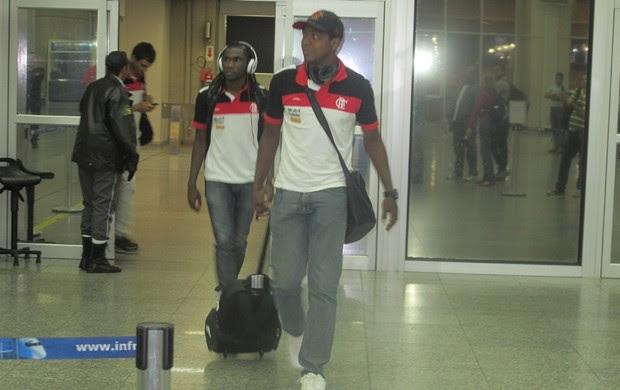 Renato, desembarque do Flamengo (Foto: Richard Souza / Globoesporte.com)