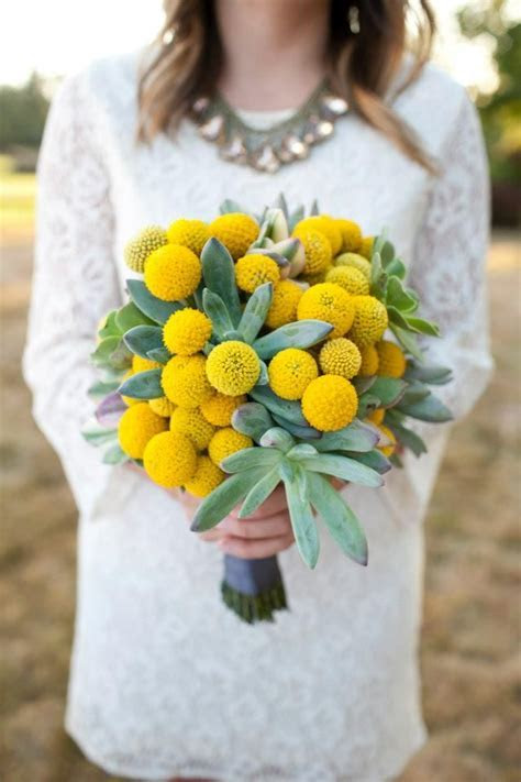 60  Cheerful Billy Balls Yellow Wedding Ideas   Deer Pearl