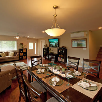 Living Room And Dining Room Combo Design Ideas, Pictures, Remodel ...