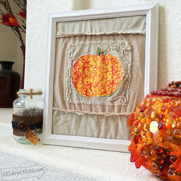 Make Fall Decor with Printable art by Jen Goode