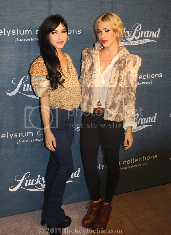 Lucky Brand New Movement in Denim event at Eveleigh, The Veronicas