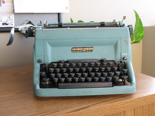 "Underwood Touchmaster c. 1960, aka ""Norma Jean"""
