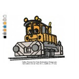 Thomas The Train Embroidery Designs