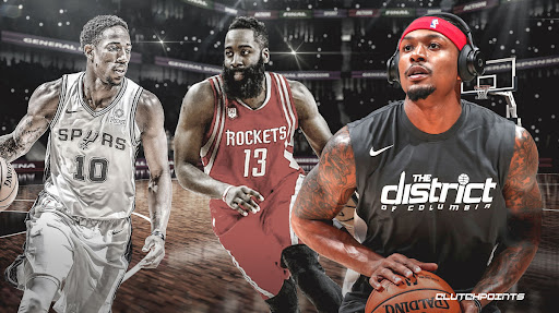 Avatar of Why Bradley Beal watched 'a lot' of film of James Harden, DeMar DeRozan before 2019-20 season
