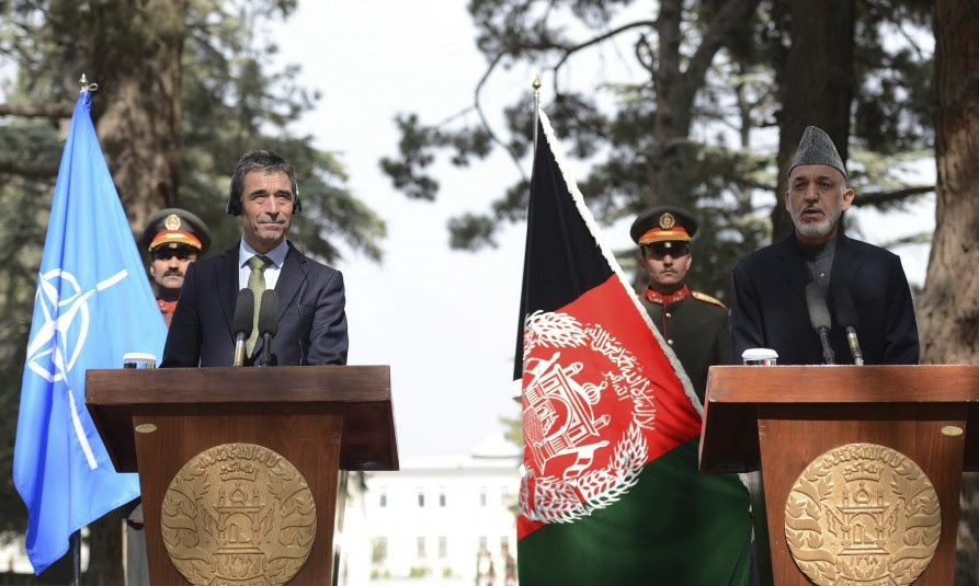 La OTAN abandona Afganistán en 2014