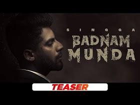 Singga   Badnam Munda (Teaser)   Young Army   Sukh Sanghera   Latest Punjabi Teasers 2021