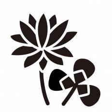 シロツメクサシルエット イラストの無料ダウンロードサイト