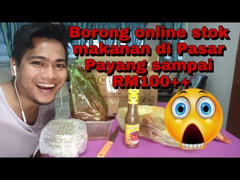 Beli Online Makanan Popular di Pasar Payang Terengganu