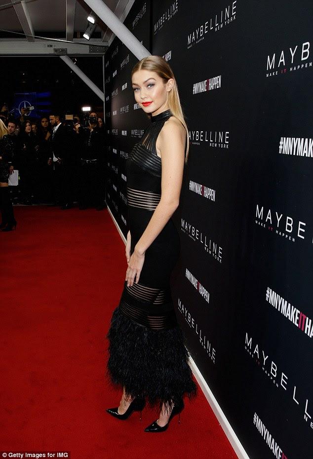 Gigi Hadid,Maybelline,Make-up Runway,Berlin