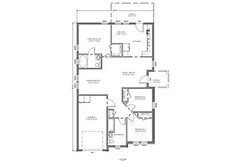 nice small homes plans  small house floor plan