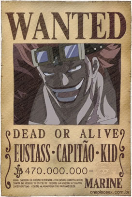 Eustass Kid Wanted