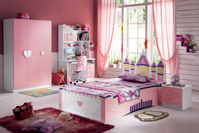 Princess Castle Kids Bedroom Furniture (Y318) - China Children ...
