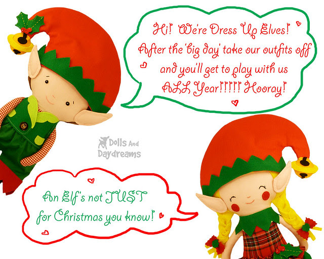 an elfs not just for Christmas!