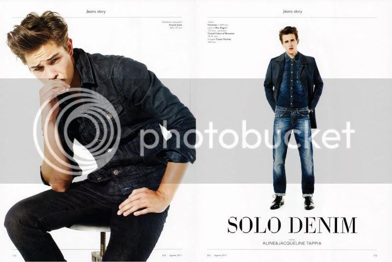GQ Italia August 2011 - Solo Denim @ StreetStylista.Homme