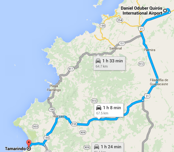 how to get to tamarindo 3