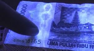 FOTO PENAMPAKAN POCONG PADA UANG 50 RIBU