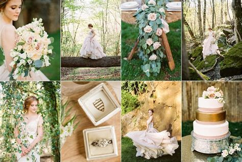 Earthy wedding inspiration in an old rock quarry in