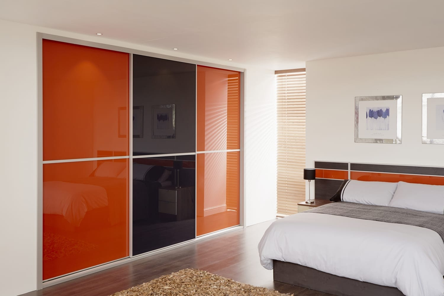 Easy Space Saving Ideas for a Modern Bedroom - Love Chic ...