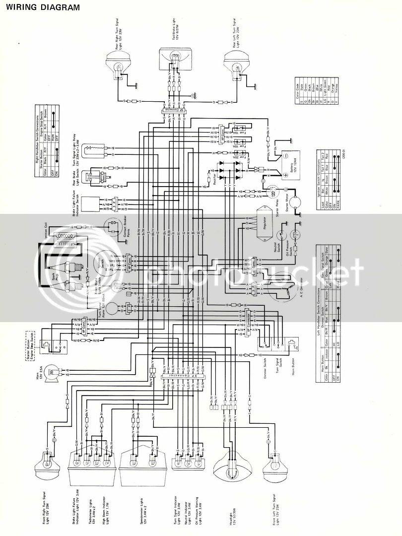 Z400 Wiring Diagram