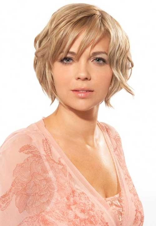 17 Short Hairstyles For Chubby Long Faces