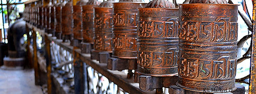 FB Cover Buddhist Prayer Wheels