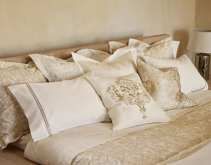 Dormitorio muebles modernos fundas cojines zara home - Cojines exterior zara home ...