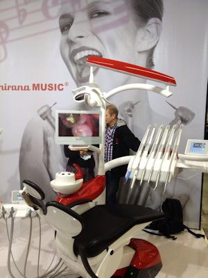 Dental chair from Chirana