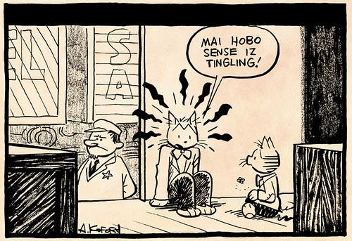 Laugh-Out-Loud Cats #2435 by Ape Lad