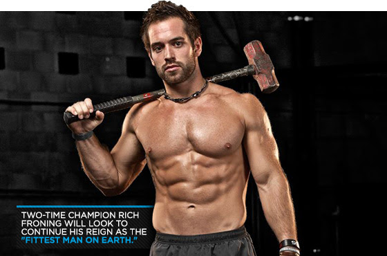 Rich Froning, Four Times in a row crowned the world's fittest man