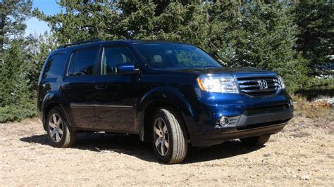 honda pilot awd  road   mph drive  review