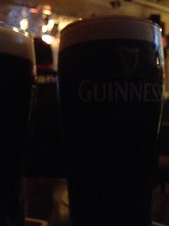 Guiness In Hebrides bar