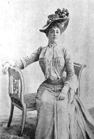 """Catalina Lasa de Estévez, fotografía de """"El Fígaro"""", 1901"""