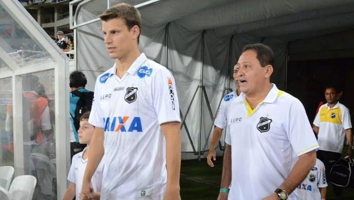 Diego Jussani - zagueiro do ABC (Foto: Frankie Marcone/Divulgação/ABC)