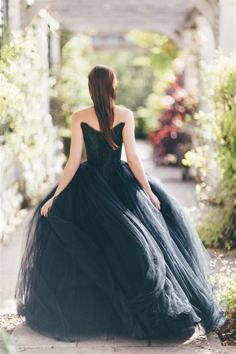Bridal Noir: 26 Breathtaking Black Wedding Dresses