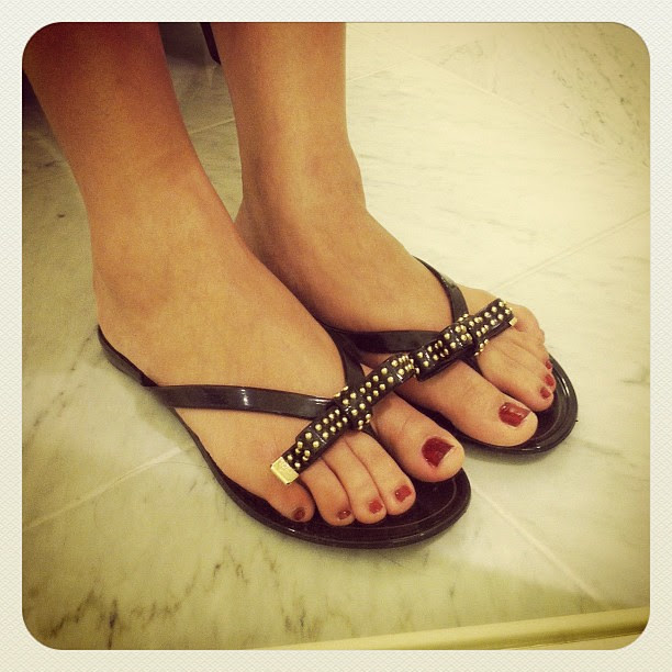 Invanka Trump Nadia Sandals in black
