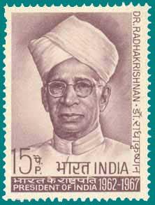 Dr. S Radhakrishan Stamp
