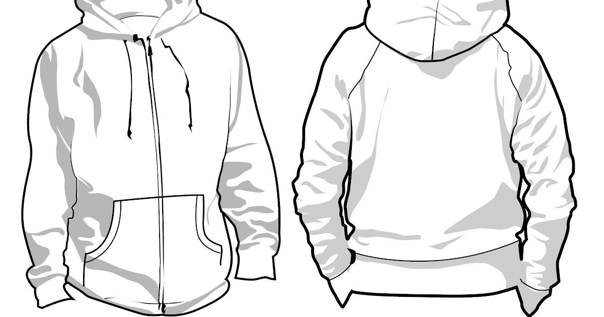 Desain Sweater Polos Depan Belakang Warna Hitam Quotes Diary D