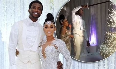 Gucci Mane and Keyshia Ka'oir reveal $75k wedding cake