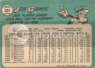 #594 Joe Gaines (back)