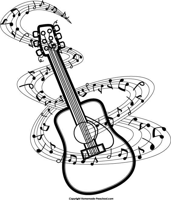 Music Notes Line Drawing At Getdrawingscom Free For Personal Use