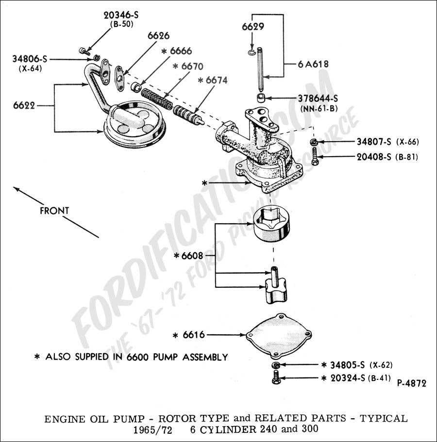 Official Ford 302 Engine Diagram