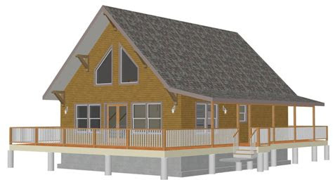 small cabin house plans  loft small cabin floor plans