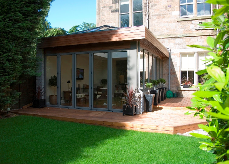 Modern and Contemporary Bespoke Glass Extensions - Interiors and Exteriors
