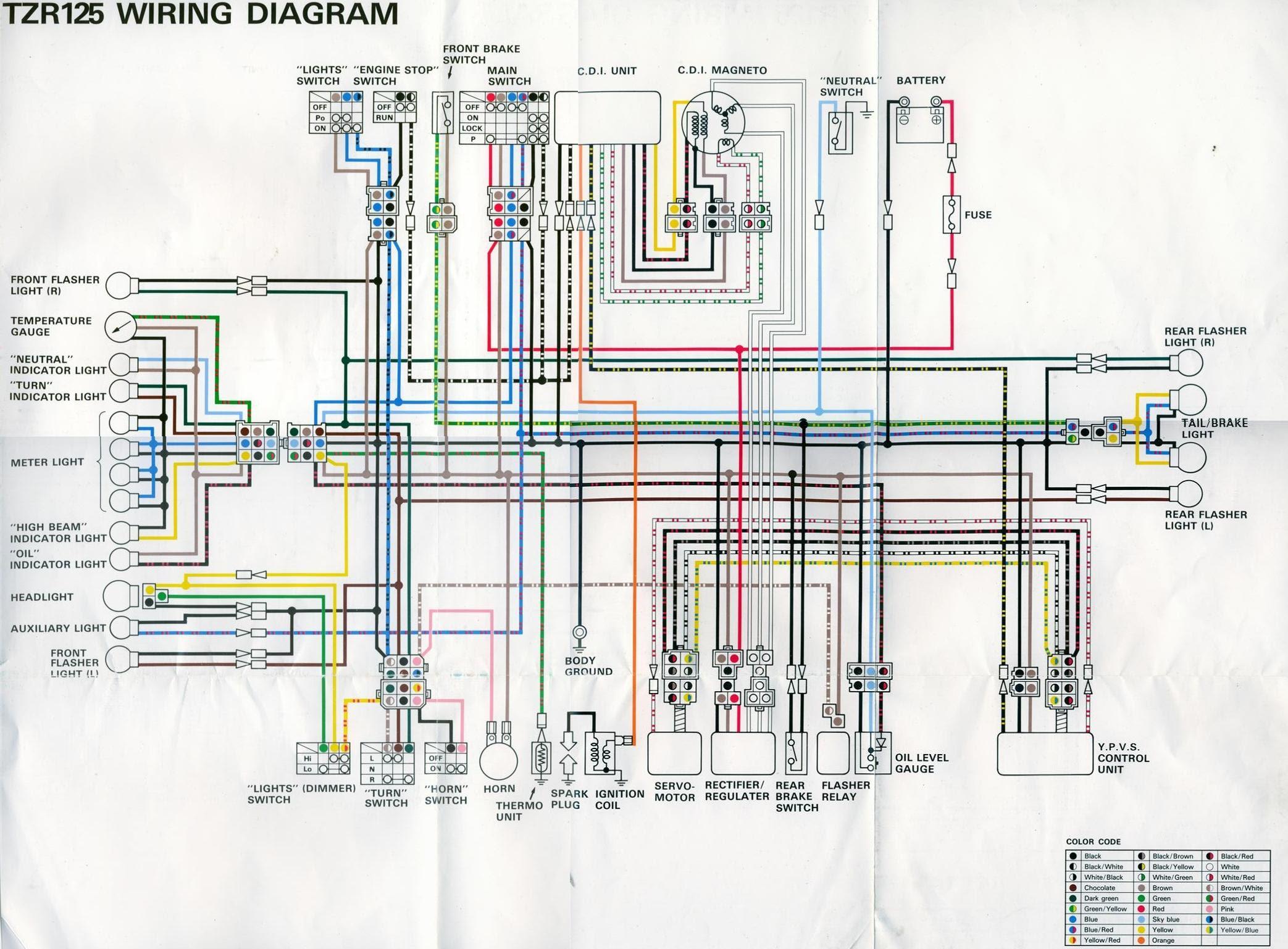 Wiring Diagram For Yamaha 350 Warrior