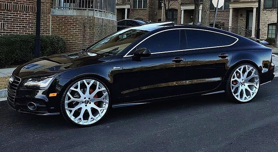 Ace 1 Black Audi A7 On Concave 24 Quot Forgiatos