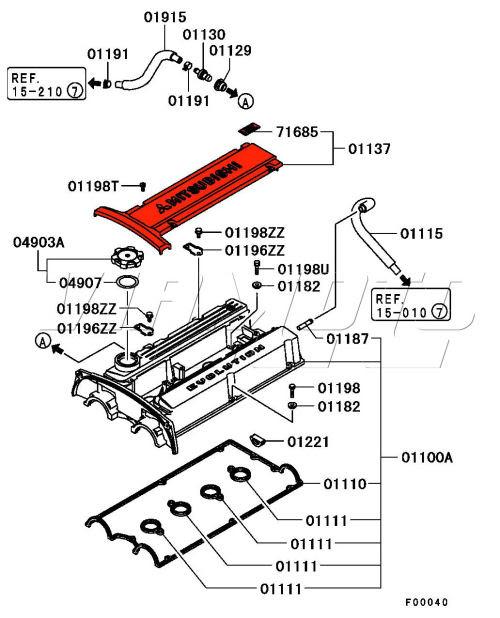 Mitsubishi Lancer Engine Diagram