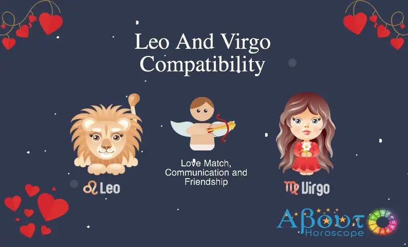 Leo ♌ And Virgo ♍ Compatibility, Love & Friendship